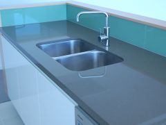 kitchen sink with stainless steel tap4